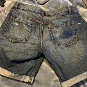LOFT Shorts - Boyfriend Jean Shorts